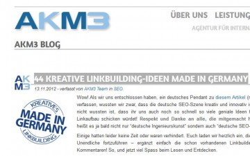 44 kreative Linkbuilding-Ideen made by Germany SEO´s