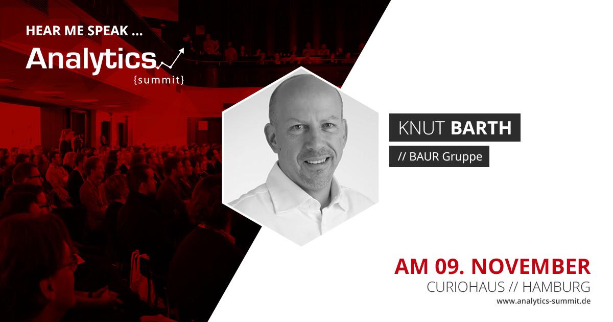 Google Analytics Summit Speaker 2017 Knut Barth