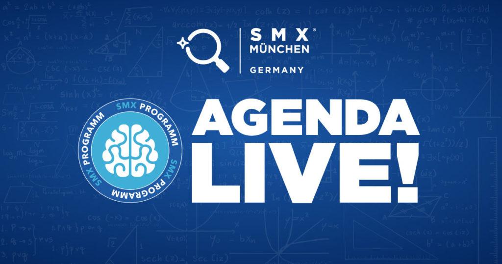 SMX München 2018 Agenda