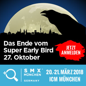 SMX 2018 Super Early Bird