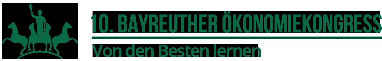 Ökonomiekongress Bayreuth 2018